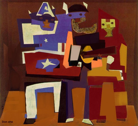PabloPicasso-Three-Avengers-1922 donahe