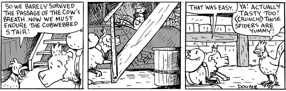 Cobwebbed Stair