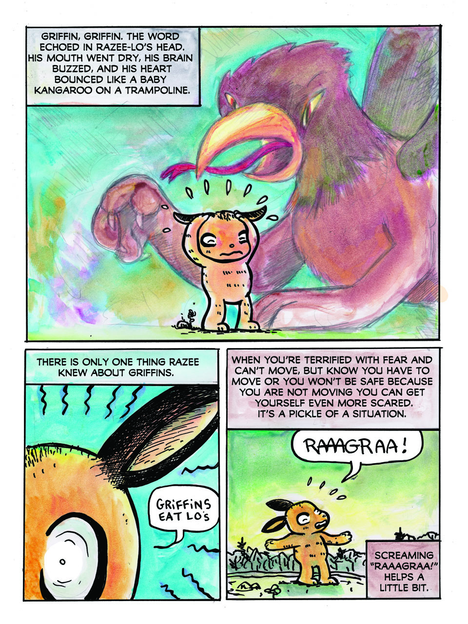 pg 4 Razee-Lo and the Griffin