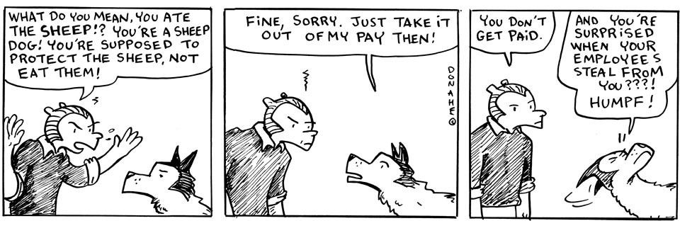 Aldous Otter 6   A Paycut